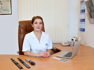 Вице-Президент по финансовым вопросам к.м.н. Виктория Олеговна Баласанян
